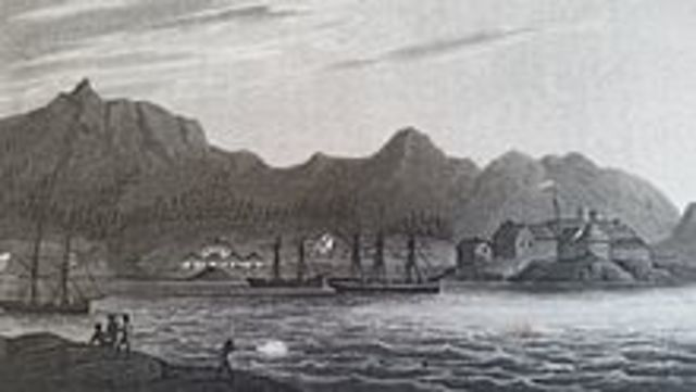 The first Russian settlement on Alaska was founded
