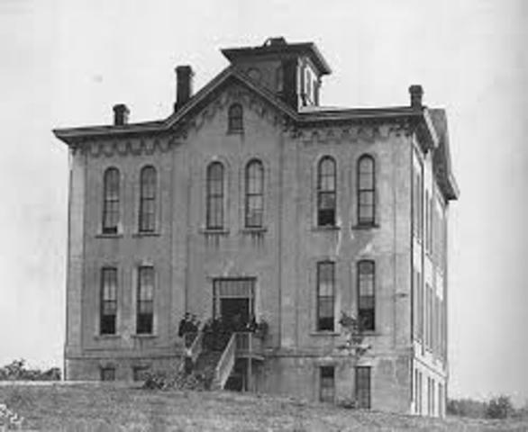University of Kansas founded