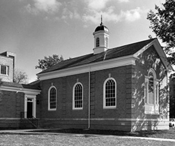 Spencer Chapel at KUMC is dedicated