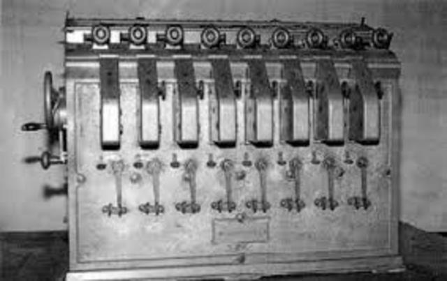 1st Algebraic Machine