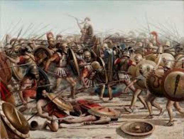 Inicio de Guerra del Peloponeso.