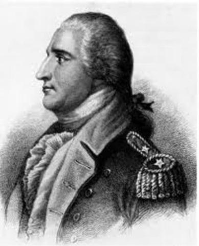 Gen. Benedict Arnold commits treason