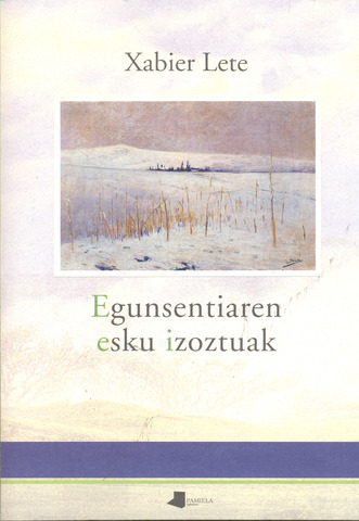 Recibe el premio de la crítica de poesia en euskera