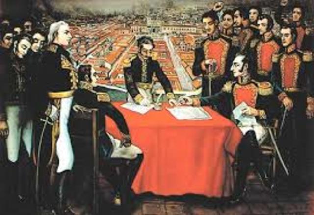 Independencia  de Ecuador