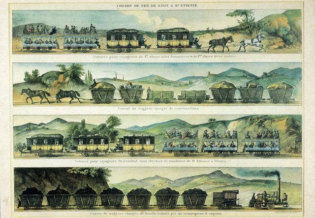 Premier chemin de fer en France