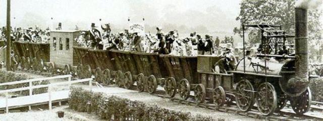 Première locomotive en France