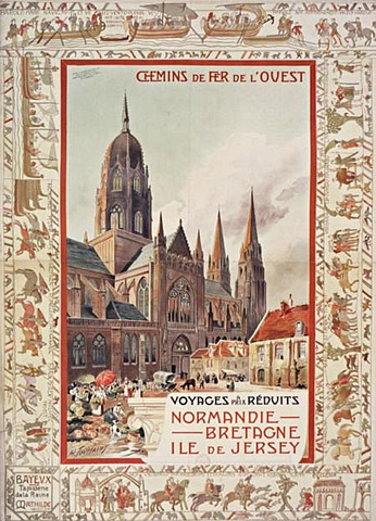 Affiche Ouest 1900