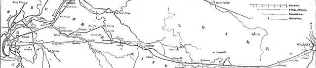 Création de la Compagnie du Chemin de Fer de Paris à Orléans