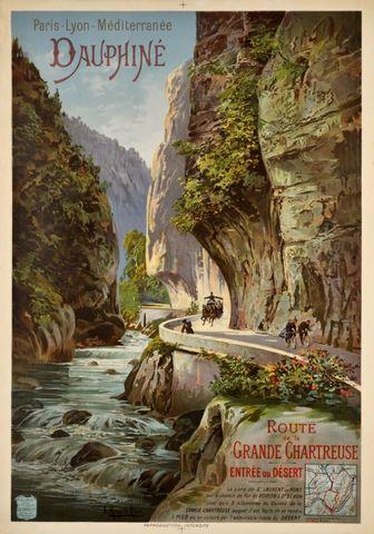 Affiche Paris à Lyon 1895