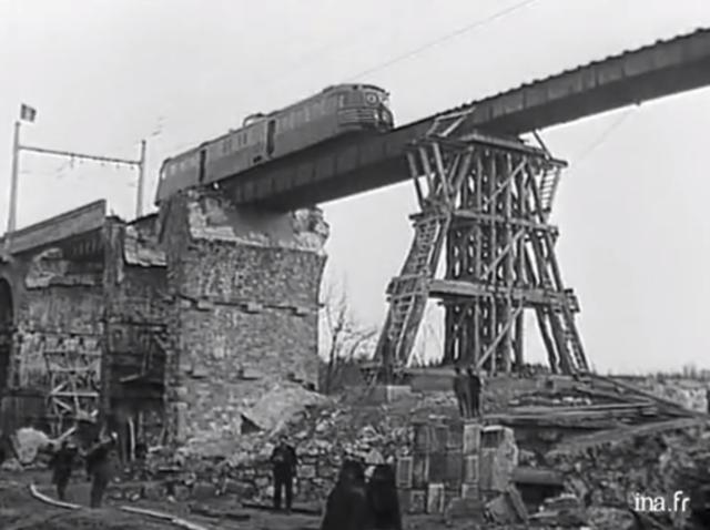 Reconstruction du réseau ferroviaire français