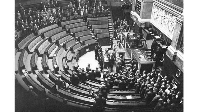 Dissolution de l'Assemblée nationale