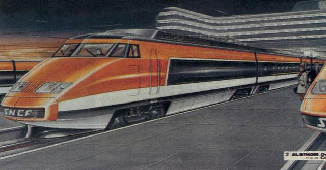 Présentation du turbotrain ou TGV