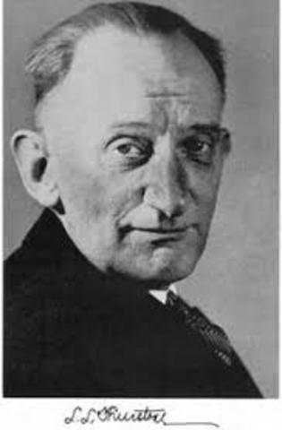 Louis Leon Thurstone (1887-1955)  época dorada de la psicometría.