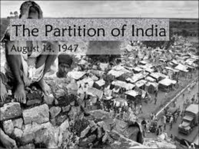 Partition: India and Pakistan