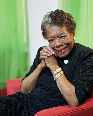 When Maya Angelou was born