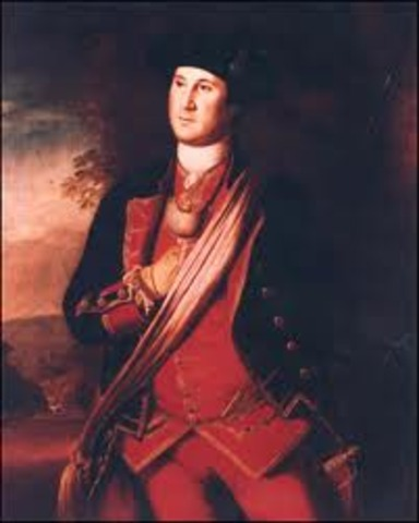 Washington named Commander and Chief of Continental Army & Navy