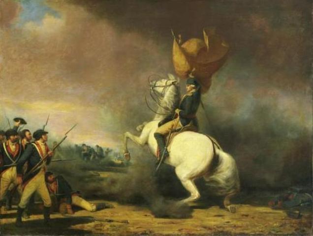 Continental Army wins at Princeton