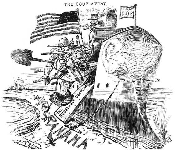 Revolution in Panama (Panama Canal)