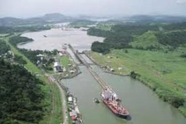 The Panama Canal (Big Stick Diplomacy)