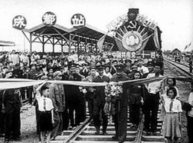 China (Railroads)