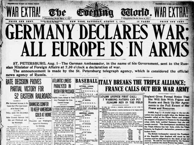 World War 1 (public opinion)