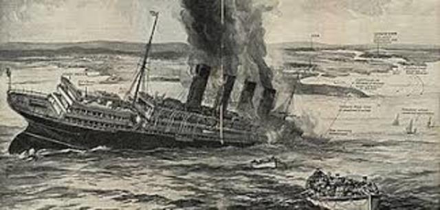 Luistiania sinking