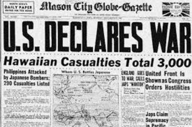 U.S. War Declaration