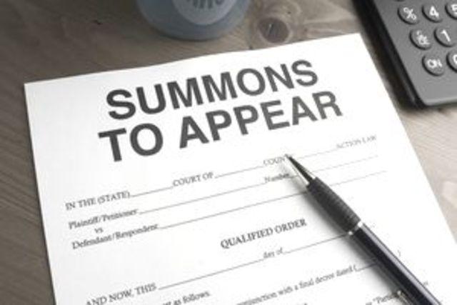 Attachment to a summon