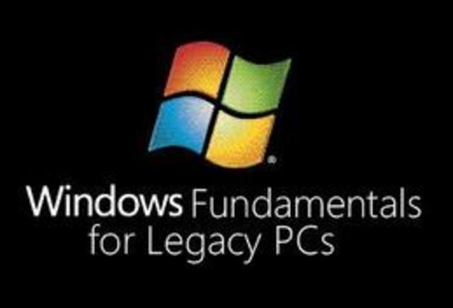 Cliente ligero: Windows Fundamentals for Legacy PCs