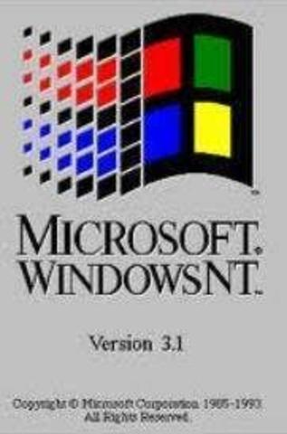 Windows 3.1 y NT