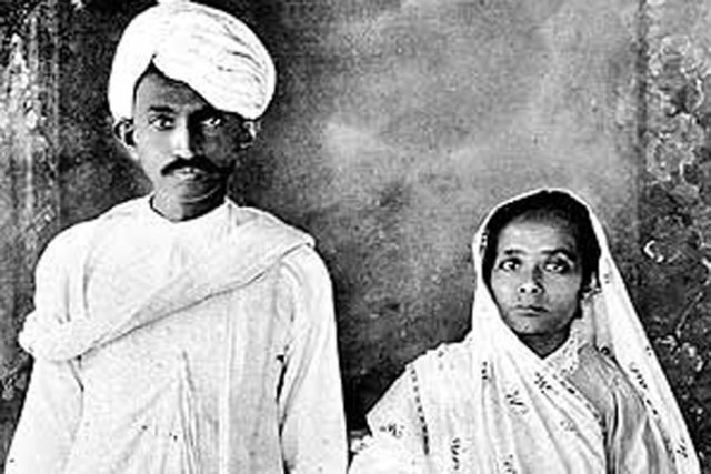 Gandhi Gets Married