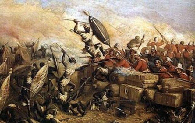 Zulus v. the British