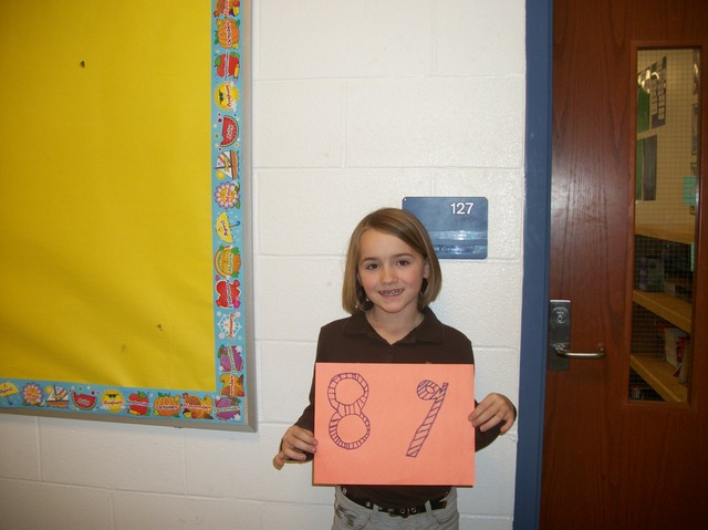 The Eighty Ninth Day of School