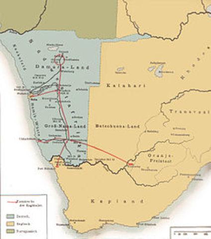 Spreading Afrikaaner control