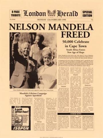 Mandela freed!