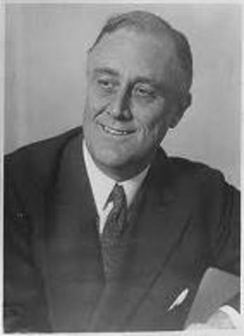 FDR elected