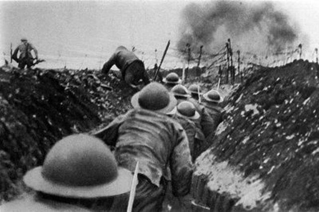 -1918 Première guerre mondiale