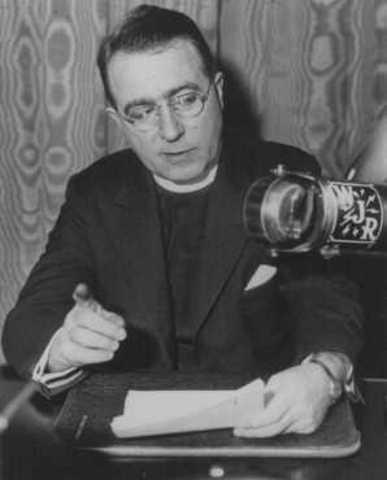 Father Coughlin attacks FDR, Jews