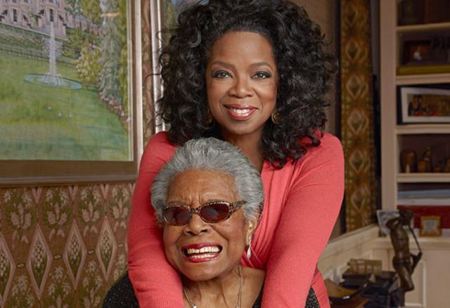 Maya Met Oprah Winfrey