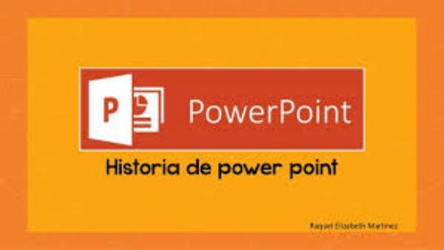 historia de power point
