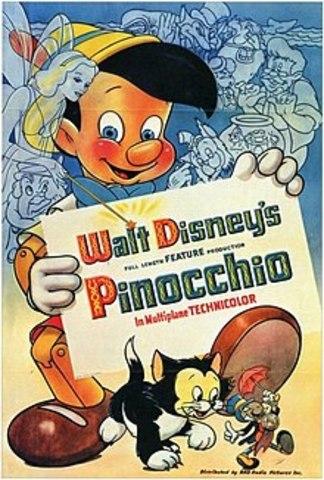 Мультфильм  «Пиноккио»
