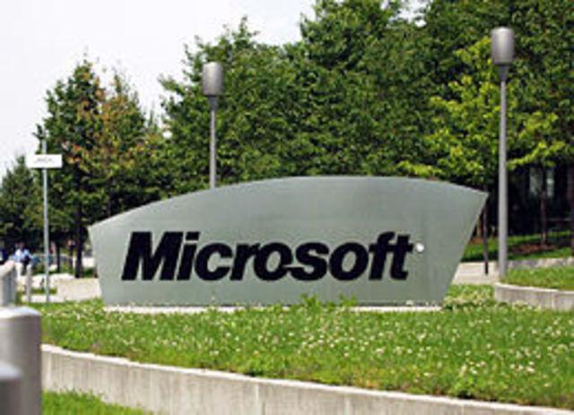 divisiones  de microsoft