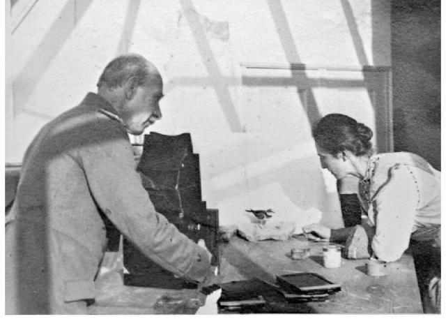 Oskar y Magdalena Heinroth