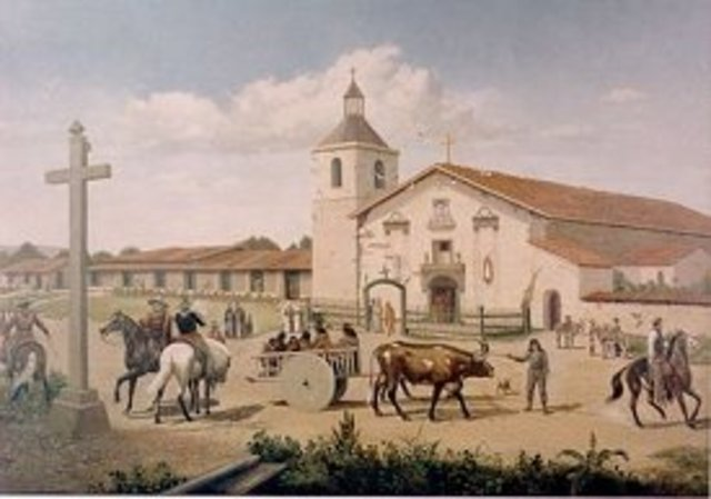 First California Mission Founded