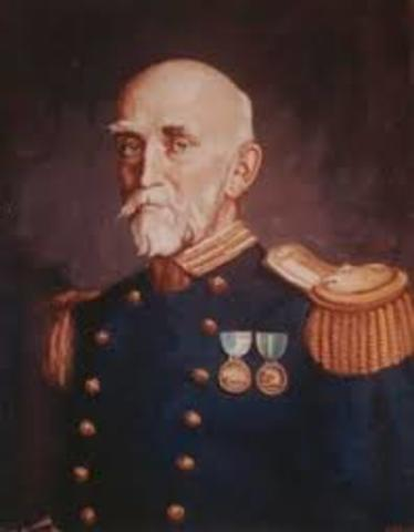 """Alfred Thayer Mahan published """"The Influence of Sea Power Upon History"""""""