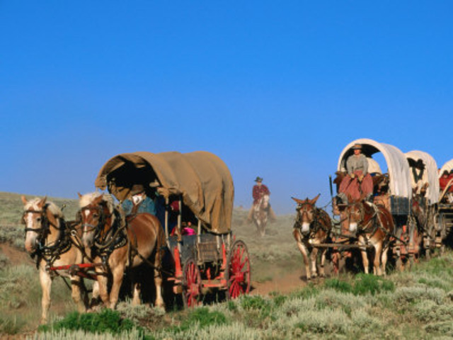 Mormons Migrate to Utah