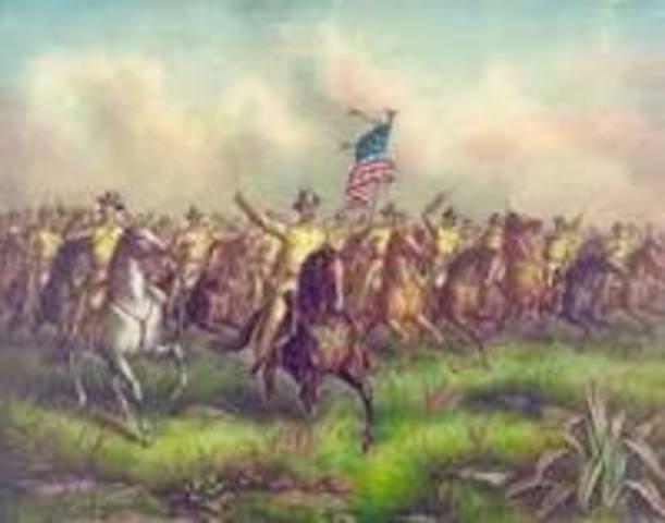 Beginning of Spanish-American War