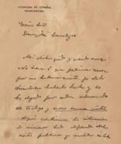 De Lome Letter (Cause of the S-A War)