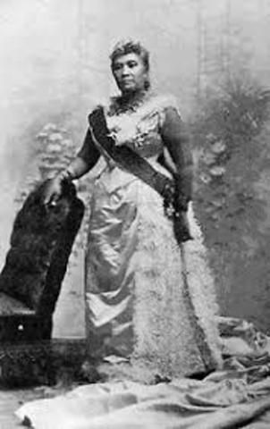 queen liliuokalani takeover