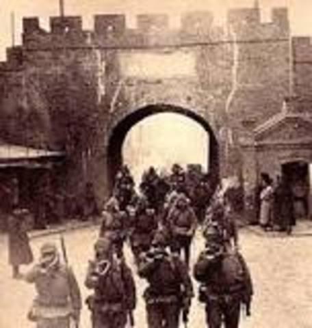 Japanese Invasion of Manchurian